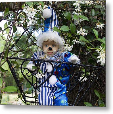 Clown Outdoors 4 Metal Print by William Patrick