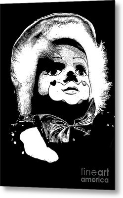 Clowning Around Metal Print by Linsey Williams