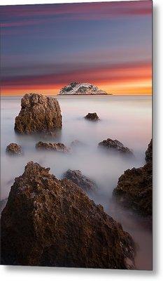 Coastal Glory Metal Print by Jorge Maia