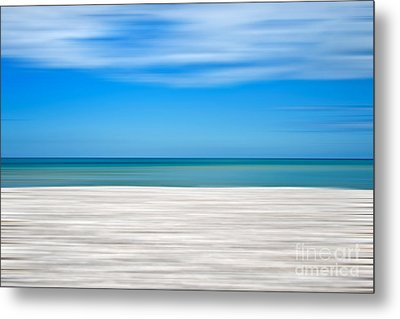 Coastal Horizon 10 Metal Print by Delphimages Photo Creations