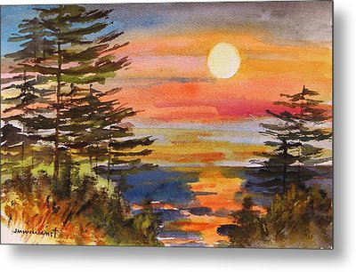Coastal Sunset Metal Print by John  Williams
