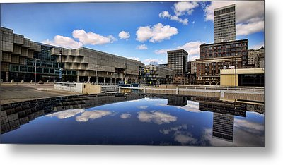 Cobo Hall Detroit Michigan Metal Print by Gordon Dean II