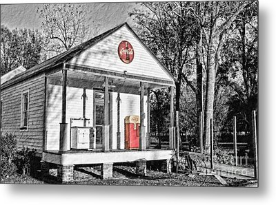 Coca Cola In The Country Metal Print by Scott Pellegrin