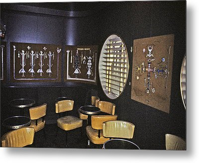 Cocktail Lounge Metal Print by John Harding Photography