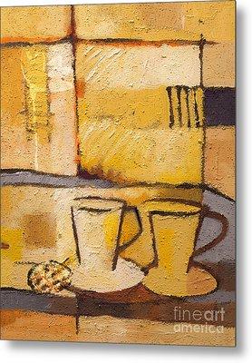 Coffee And Bisquit Metal Print by Lutz Baar