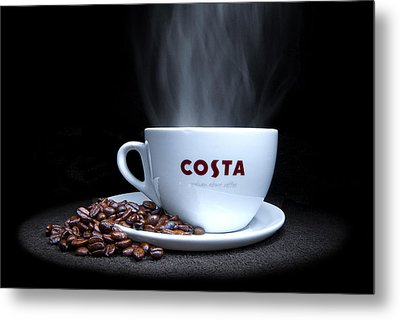 Coffee Time Metal Print by Rob Guiver
