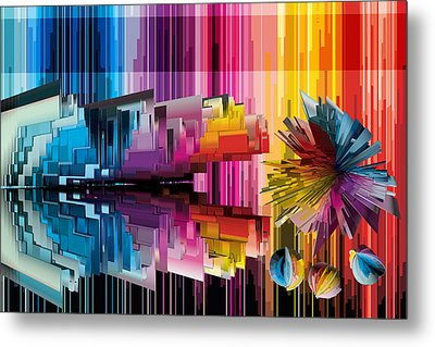 Cognitive Dissonance 1 Metal Print by Angelina Vick