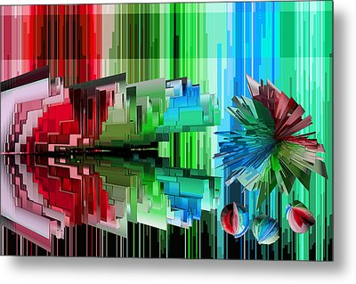 Cognitive Dissonance 3 Metal Print by Angelina Vick