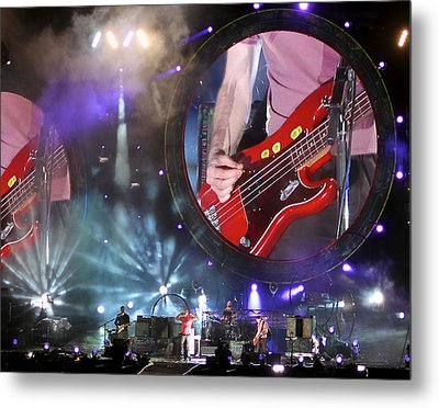 Coldplay - Sydney 2012 Metal Print by Chris Cousins