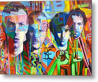 Coldplay Metal Print by Joshua Morton
