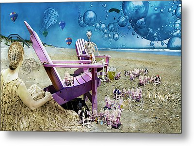 Collective Souls Metal Print by Betsy Knapp