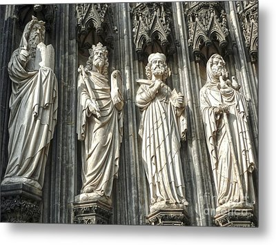 Cologne Germany - High Cathedral Of St. Peter - 06 Metal Print by Gregory Dyer
