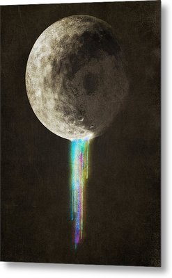Color Bleed Metal Print by Eric Fan