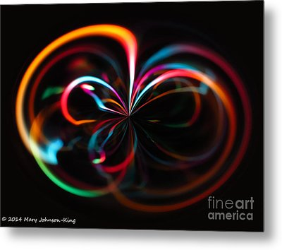 Color Light Metal Print by Mary  King