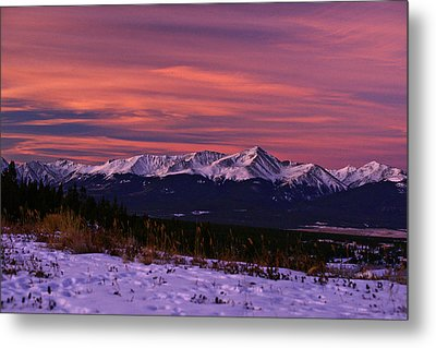 Color Of Dawn Metal Print by Jeremy Rhoades