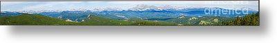 Colorado Continental Divide Panorama Hdr Metal Print by James BO  Insogna