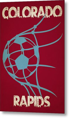 Colorado Rapids Goal Metal Print by Joe Hamilton