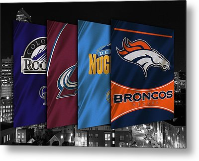 Colorado Sports Teams Metal Print by Joe Hamilton