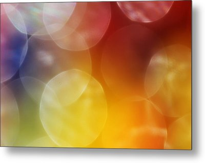 Colorful Abstract 7 Metal Print by Mary Bedy