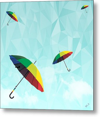 Colorful Day Metal Print by Mark Ashkenazi