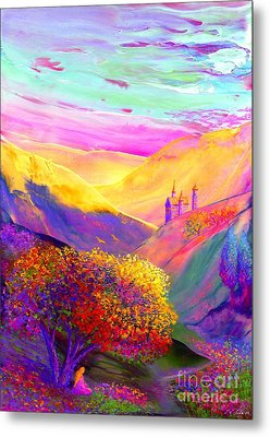 Colorful Enchantment Metal Print by Jane Small