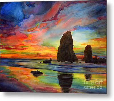 Colorful Solitude Metal Print by Hailey E Herrera