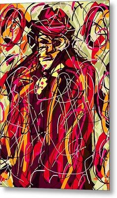 Colorful Suit Metal Print by Rachel Scott