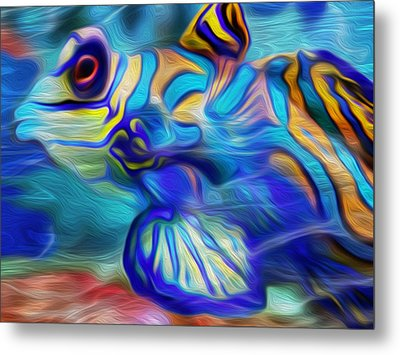 Colors Below Metal Print by Jack Zulli