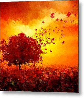 Colors Hymn Metal Print by Lourry Legarde