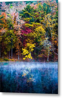 Colors In Early Morning Fog Metal Print by Parker Cunningham
