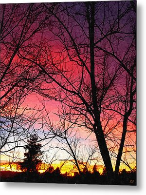 Colors Of Dusk Metal Print by Glenn McCarthy Art and Photography
