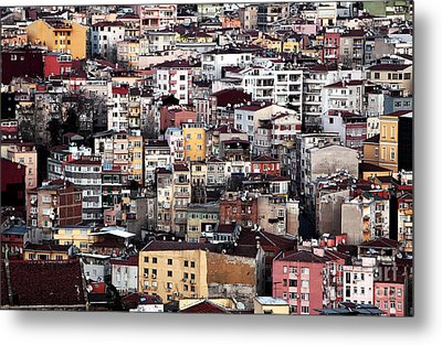 Colors Of Istanbul Metal Print by John Rizzuto