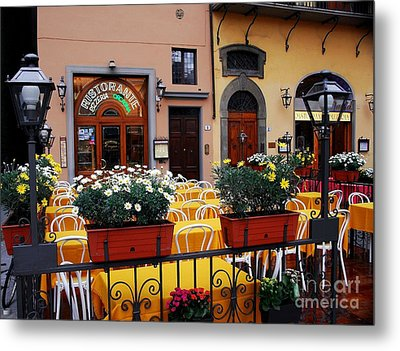 Colors Of Italy Metal Print by Mel Steinhauer