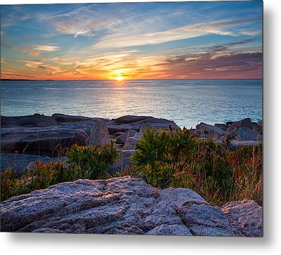 Colors Of Sunrise Metal Print by Darylann Leonard Photography
