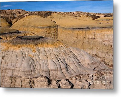 Colors Of The Badlands Metal Print by Vivian Christopher