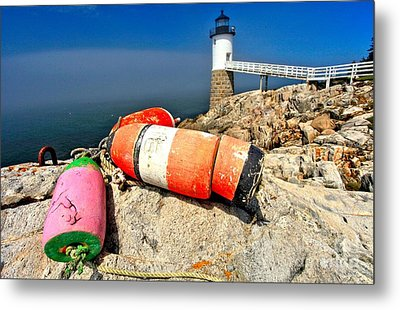 Colors On The Rocks Metal Print by Adam Jewell