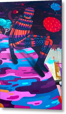 Colors Revolution Metal Print by Laura Jimenez