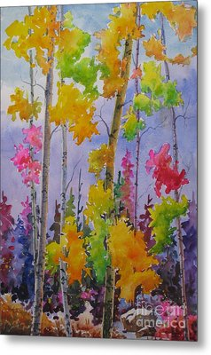 Colours Of Fall Metal Print by Mohamed Hirji