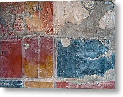 Colours Of Herculaneum Metal Print by Marion Galt