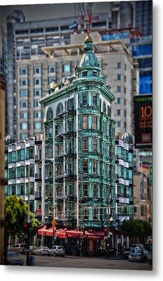 Columbus Tower In San Francisco Metal Print by RicardMN Photography