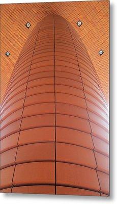 Column Of Strength Metal Print by Randall Weidner