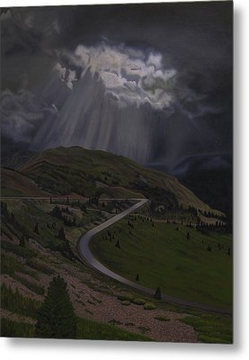 Coming Home To God Metal Print by Thu Nguyen