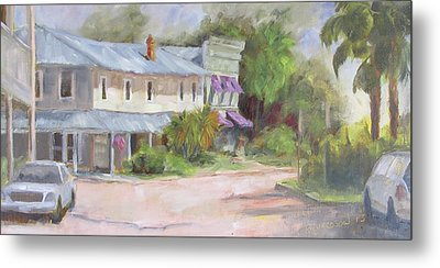 Commerce Street Apalach Metal Print by Susan Richardson