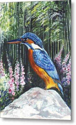 Common Kingfisher  Metal Print by Carol Wisniewski