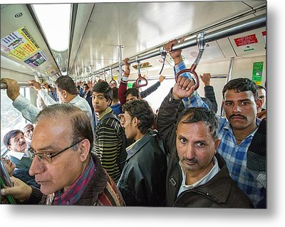 Commuters Metal Print by Ashley Cooper