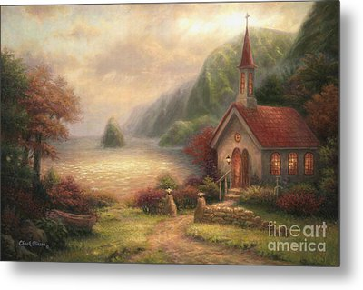Compassion Chapel Metal Print by Chuck Pinson