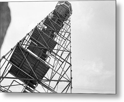 Completed Air Traffic Control Tower Metal Print by Kevin Murphy