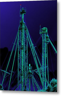 Complex Glow Metal Print by Wendy J St Christopher