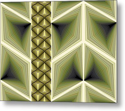 Composition 231 Metal Print by Terry Reynoldson