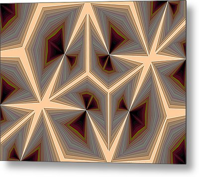 Composition 234 Metal Print by Terry Reynoldson